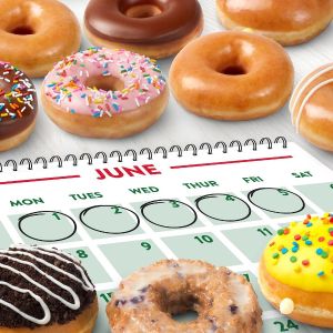 Any Doughnut FreeComing Soon: Krispy Kreme National Doughnut Week