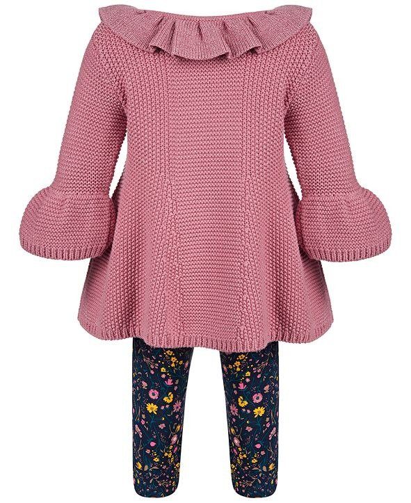 女婴毛衣套装