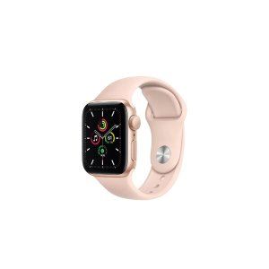 AppleWatch SE (Gold Aluminum, 40mm, Pink Sand Sport Band, GPS Only) | Smart Watches |