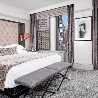 $129/晚起 靠近时代广场纽约 WestHouse 5星级精品酒店好价