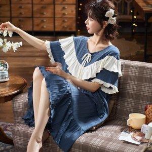 €8.88就收封面款 原价€15韩式唯美睡衣 纯棉质地 睡衣也要精致 超多甜美款式