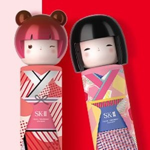 返$35+送神仙水3件套(价值$85)SK-II 日系护肤 东京娃娃限定神仙水上新,大红瓶3件套有货