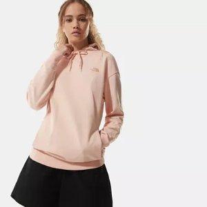 蜜桃粉卫衣