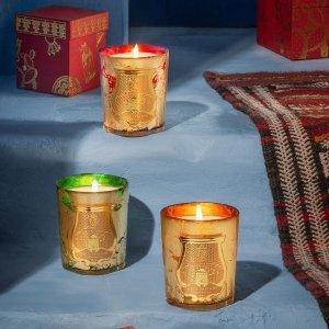 全线7.8折 €17收迷你蜡烛4只Cire Trudon 法国皇室香薰蜡烛 馨香高颜值 提升幸福感