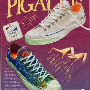 低帮Chuck 70定价£100上新:Pigalle X Converse 英国发售 雷电印花有点酷哦