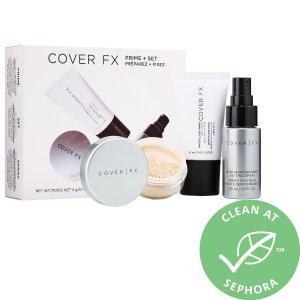 $17.5 (价值$41)COVER FX 妆前+定妆套装大促 带给你持久清透底妆