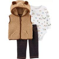 婴儿含背心三件套