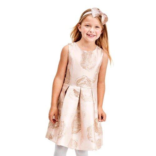 女孩节日礼服裙