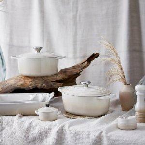 低至8折+额外9折 €17收小号炖锅Le Creuset 高颜值厨具 花式马卡龙色 锅具、餐具 价格超美丽