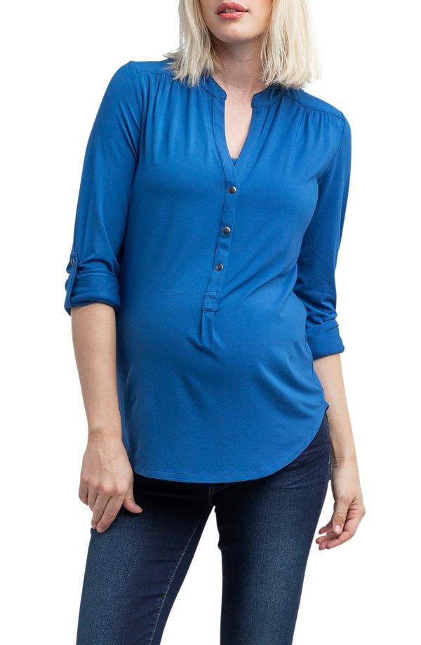 孕妈妈衬衣