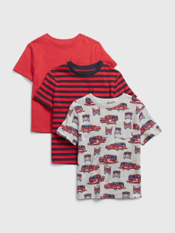 婴儿、小童T恤3件