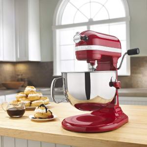 $258.99 (原价$521.25) 史低价闪购:KitchenAid 600系列 575瓦超大马力专业立式厨师机