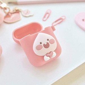 $18KAKAO FRIENDS 软硅胶苹果耳机盒,小小桃心萌翻天