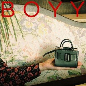 低至5折+限时免邮 €262收饺子包BOYY 小众设计感包包 收可爱度爆表mini包 人气鞋靴也在线