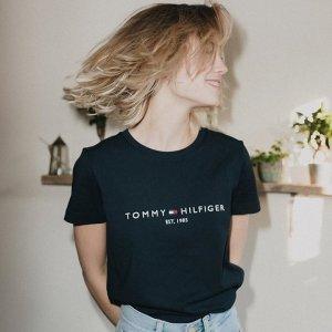 低至4折+额外8折Tommy Hilfiger 春夏新款服饰热卖,封面款经典T恤$19