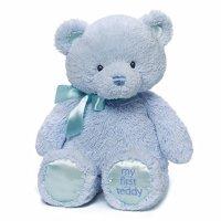 Gund Baby GUND 我的第一只泰迪熊,蓝色,15
