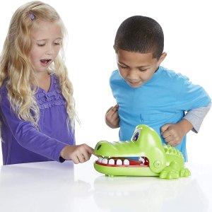 $21(原价$24.99)Hasbro 孩之宝鳄鱼牙医玩具 紧张刺激欧气监测器