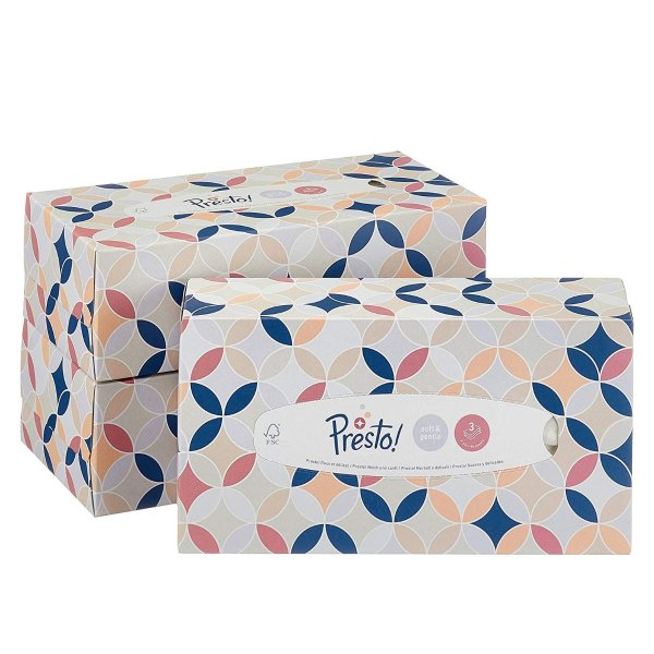 Amazon自有品牌 3层盒装抽纸 每盒90抽 X 12盒