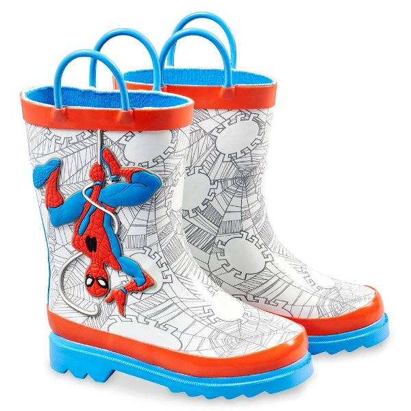 Spider-Man 图案 雨鞋