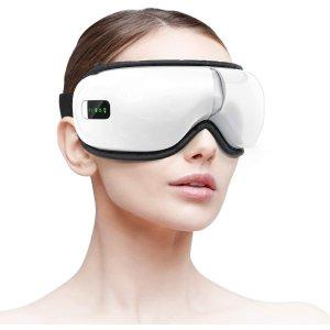 $64.44(原价$75.99)Homiee 便携式智能眼部按摩仪 一键控制 5种模式 舒缓眼疲劳