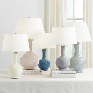 低至8折Ballard Designs 多款高端灯具、地毯、墙面装饰品大促