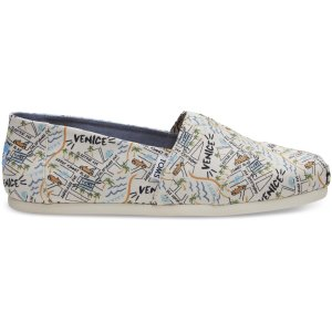Venice Print Canvas Men's Classics