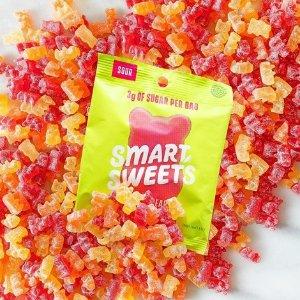 8.5折起 一包仅3g糖SmartSweets 健康版小熊软糖 高纤低糖 甜蜜无负担