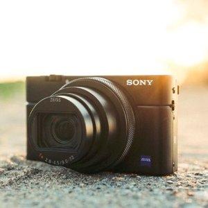 $399(原价$899)SONY索尼 RX100 II 便携数码相机 黑色