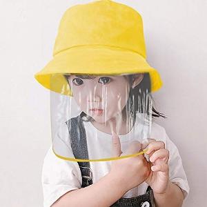 透明面罩10个$30 每个仅$3安全防护面罩、渔夫帽热卖 多款可选 有效阻挡飞沫