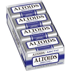 $7Altoids Artic Mints, Peppermint pack of 8