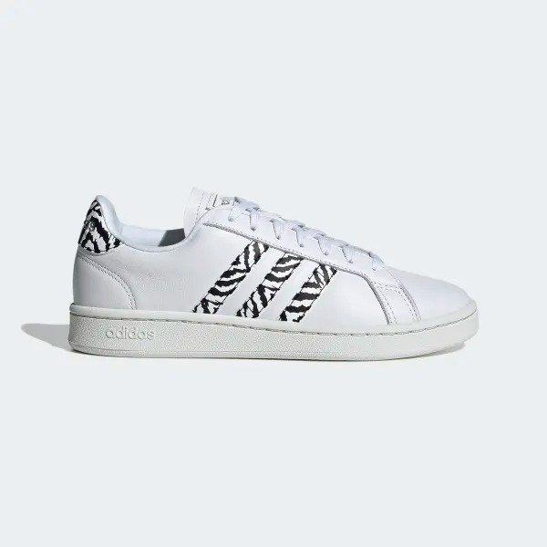Grand Court 女款小白鞋