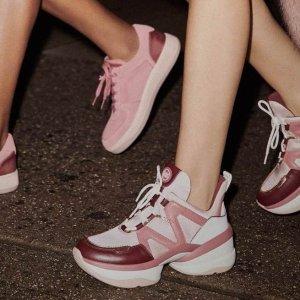 5折起+免邮 $79收厚底运动鞋Michael Kors 舒适鞋履 $99封顶 $79收细带高跟鞋 乐福鞋$89