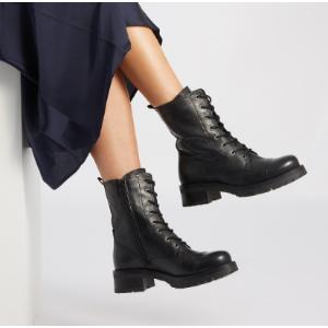 4折起 真皮踝靴$49.9性价比战靴都替你们挑好了 平价SW $99.9、真皮骑士靴$149