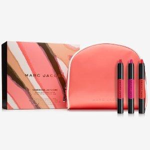 Marc Jacobs口红3件套 价值$78