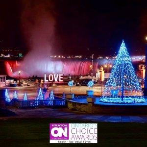 免费!11月13日开始Niagara Falls 尼亚加拉瀑布冬季灯光展回归 分分钟出美片