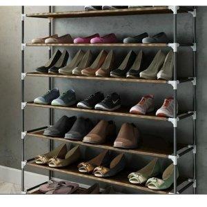 $39.99(原价$49.99)Möbelmaster 10层50双鞋鞋架