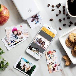 $69.99(原价$99.99) 免邮Kodak 柯达口袋照片打印机 随时随地分享精彩影像