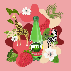 $11.28Perrier Strawberry Flavored Carbonated Mineral Water, 16.9 Fl Oz (24 Pack) Plastic Bottles