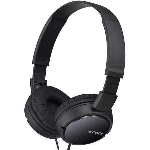 $9.99Sony MDRZX110/BLK ZX Series Stereo Headphones (Black)