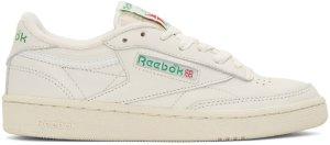Reebok Classics: Off-White Club C 85 Sneakers | SSENSE