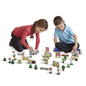 低至$8.81Melissa & Doug 儿童益智拼图、早教球等玩具套装,多款可选