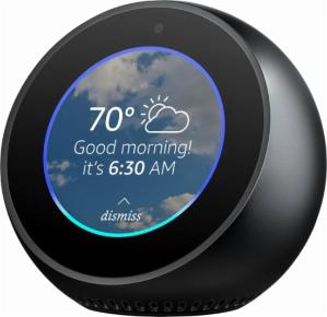 $99Amazon Echo Spot Smart Speaker @ Best Buy