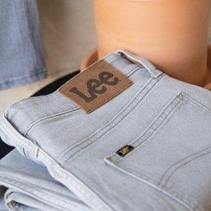 低至8折+免邮 梨形身材快冲!Lee官网 牛仔裤大促 好穿又显瘦 get牛仔裤中的战斗机