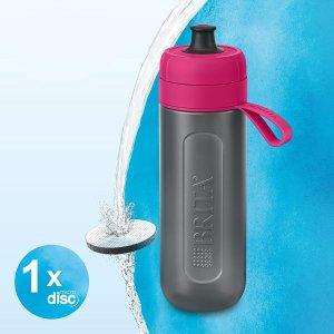 低至8.9折 €10.25收封面款Brita Fill&Go Active 运动滤水壶热促 边喝边滤超级方便