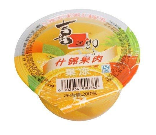 喜之郎 什锦果肉果冻-2杯