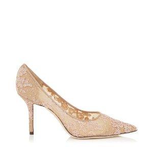 LOVE 85 蕾丝高跟鞋