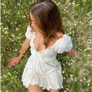 低至3折+叠八折ASOS官网 连衣裙反季入 小清新格子裙$27、度假风连衣裙$51
