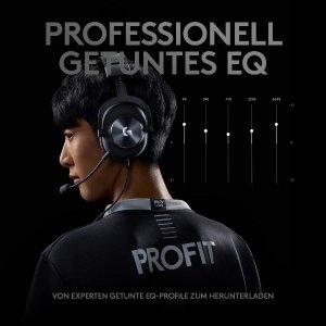 6.1折特价包邮Logitech G PRO X 电竞耳机