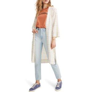 Madewell格纹外套