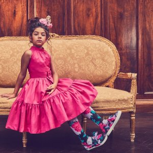 Harlem's Fashion Row 合作款Janie And Jack 童装上新货  一首华丽优雅的交响乐